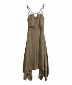 Satijnen jurk | Product Detail | H&M