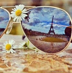 sunglasses and paris loveit