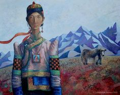 Mongolian artist : Zayasaikhan Sambuu