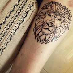 The lion (to me) represents strength and bravery, qualities I feel I have had a lot of this past year. It serves as a reminder that I can overcome any problem that I face