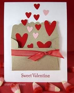 Envelope with hearts | Stampin' Up - Valentine cards ...