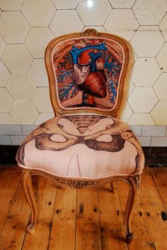 Sam Edkins - Anatomically Correct Chair.  £595 a piece.