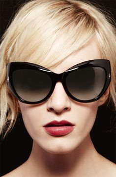 Super cute shades are a must. #tomford