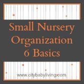 Small Nursery Organization - 6 Basic Tips