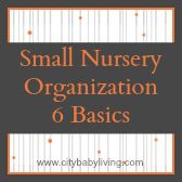 Small Nursery Organization - 6 Basic Tips