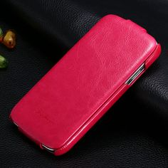 Hot Luxury PU Leather Case For Samsung Galaxy S4 IV i9500 Ultrathin Vintage Crazy Horse Flip Cover 6 Colors GRS