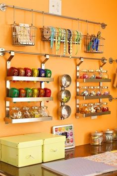 Creative hanging wall organizer ideas