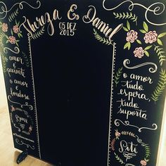 Que lindo  painel @moveisecoisinhas com a arte linda da @agatharolim #Repost @agatharolim with @repostapp. ・・・ #photobooth #chalkboard  #wedding #casamento #chalk #painellousa #lousa