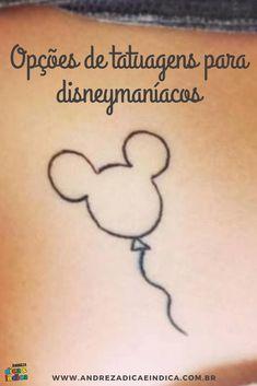 Quer tatuar o seu amor pela Disney? Veja muitas sugestões de modelos de tatuagens Disney. #tattoo #disneytattoo #tatuagem #disney #tatuagemdisney