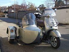 Vespa Gts 300 con sidecar di nostra produzione Vespa Gts, Sidecar, Motorcycle, Cars, Vehicles, Bobbers, Windows, Autos, Motorcycles