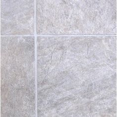 Tarkett�12-ft W Creamy Grey Tile Low-Gloss Finish Sheet Vinyl    $1.17 sq ft     $14.04 per linear ft