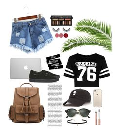 School Outfit♡ by katia-mel on Polyvore featuring polyvore fashion style Boohoo WithChic Vans Carbon & Hyde Ray-Ban Kat Von D Charlotte Tilbury clothing