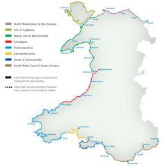 Wales Coast Path-870mi