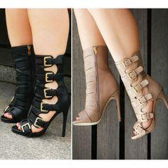 High Heel Boots, Heeled Boots, Shoe Boots, Beautiful High Heels, Cute Heels, Pretty Shoes, Pumps Heels, Fashion Shoes, Footwear