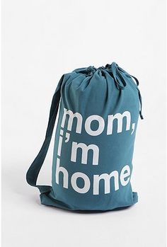 Laundry Bag Enough Said College Humor Hacks Gifts