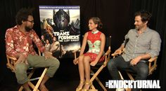 'Transformers' stars Isabela Moner and Santiago Cabrera are thick as thieves. The actors share South American roots, and also share the experience of working...