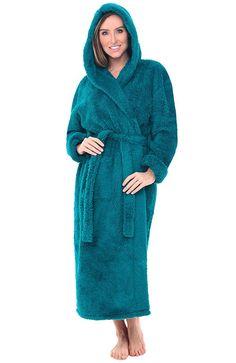 Alexander Del Rossa Womens Fleece Robe 15b0f0333