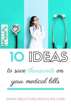 10 Ways To Save Thousands On Your Medical Bills – Relatively Rich Life - Health insurance Best Money Saving Tips, Ways To Save Money, Saving Money, Money Tips, Medical Billing, Medical Care, Health Insurance Companies, Rich Life, Budgeting Finances