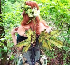 LeAtHeR MaPLe LeAf FaErY WiNgS by Faerieworks on Etsy, $200.00