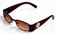 Rectangle design sunglasses  Tinted lenses  Curved secure fit  UV protection
