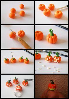 Halloween pumpkins tutorial by GemDeDude.deviantart.com on @deviantART