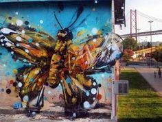Work by Bordalo II - #art #street #stretart #recycle #green #lisboa #portugal