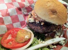 Burger at Irma's Burger Shack in Oklahoma City