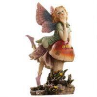 The Fairy Dust Twins Garden Collection: Mushroom