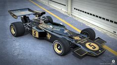 Lotus 72D Formula 1 (alt view) by dangeruss on deviantART