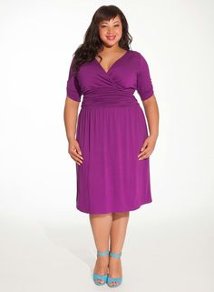 10383b5aef2 Vestidos para gorditas Curvy Girl Fashion