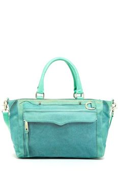 Rebecca Minkoff Canvas Mab Satchel by Handbags For Every Occasion on @HauteLook