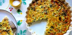 Holiday Breakfast Tart with Sausage and Kale