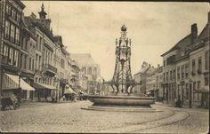 Grote Markt rond 1900
