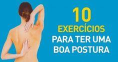 10 exercícios para uma boa postura