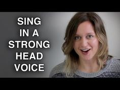 Strengthen Head Voice & Sing with POWER - Felicia Ricci