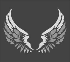 Angel Wings Stencil | Large Stencil