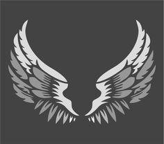 Angel Wings Stencil | Large Stencil