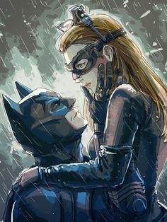The Dark Knight Rises fan art - I just really like this
