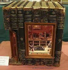 make a dollhouse in a book - Google Search