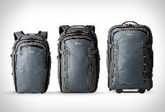 LowePro have presented the HighLine Series, a collection of rugged travel packs and rolling luggage that are equally at home on an airplane or in the outback. Designed for the smart and efficient … _ 진작 이렇게 나오지 ... 난 왼쪽끝