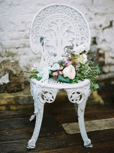 I dream of you amid the flowers ~ Vintage wedding inspiration