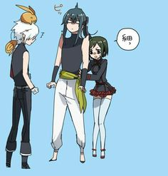 D.Gray-man Allen,Kanda and Lenalee by Nonkal
