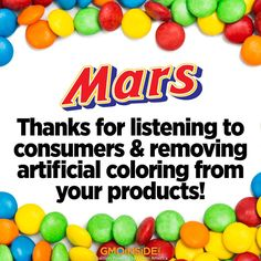 Mars announced that
