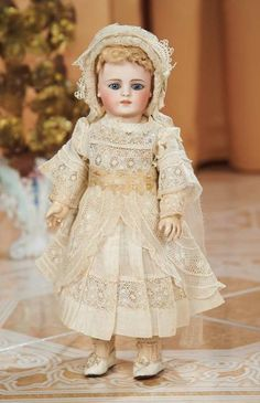 Petite Early German Bisque Doll with Rare Body by Simon and Halbig 1200/1800 Auctions Online | Proxibid