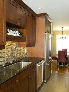 Kitchen Galley Kitchen Design, Pictures, Remodel, Decor and Ideas - page 42