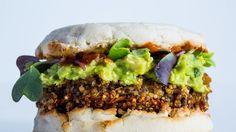 Stellar Quinoa Burger Recipe | Bon Appetit