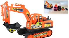 Garbage Truck and Excavator Truck Toys Video for Children Playing at Home by JeannetChannel