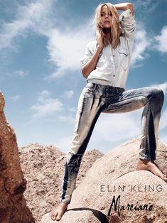 Hunter & Gatti Shoot the Elin Kling for Marciano Campaign
