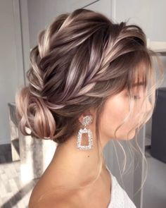 Long Hair Styles, Trendy, Makeup, Earrings, Beauty, Fashion, Sleek Hairstyles, Make Up, Ear Rings