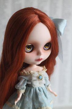 Rowan - A Mab Girl - custom Blythe doll ooak by Mab Graves